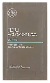 <b>Патч для носа Jeju</b> Volcanic Lava Aloe Nose Strip 7шт The Face ...