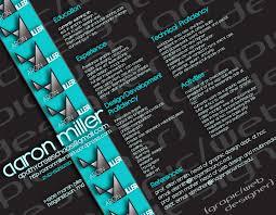 creative resume example the blog for apathycreschaos a web design graphic design resume