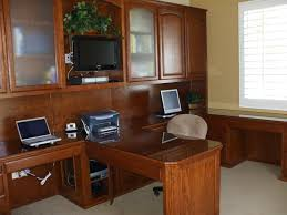 home office desk and wall unit combo cherry custom home office desk