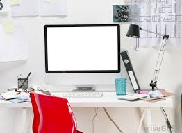 a basic home office workstation might include a computer a table and a chair basic home office
