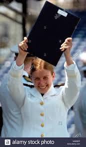 midshipman kathryn port d epagnier holds up her diploma after midshipman kathryn port d epagnier holds up her diploma after graduating from the u s naval