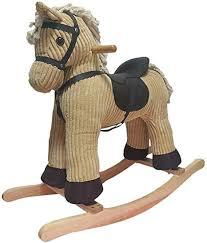 Byx- Baby Rocking Horse - Trojan <b>Rocking Chair</b> Car <b>Music</b> Boys ...