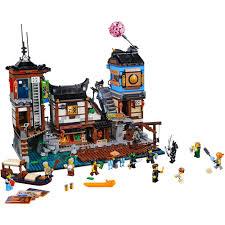 Конструктор <b>LEGO Ninjago Порт</b> Ниндзяго <b>Сити</b> 70657