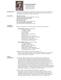 cv examples teaching r eacute sum eacute templates tailored for your dream job cv examples teaching elementary school teacher resume template monster sample sample resume of high school teacher