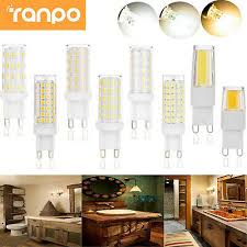 5 pack 4w silicone coated dimmable g9 led light bulb 360 degree 40w equivalent 72pcs epistar smd 2835