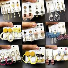 Discount Long <b>Needle</b> Earrings