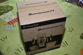 Обзор от покупателя на <b>Корпус Thermaltake Suppressor</b> F1 black ...