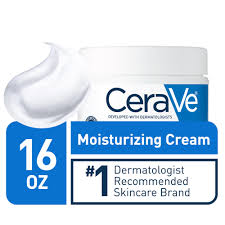 CeraVe Moisturizing Cream, Daily Face and Body Moisturizer for ...