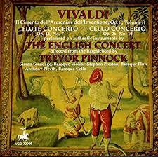 <b>Vivaldi</b>, <b>Trevor Pinnock</b>, The English Concert, Simon Standage ...