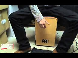 Meinl <b>Pickup</b> Cajon, test - YouTube