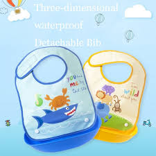 <b>Cartoon Prints Kids Silicon</b> Bib Baby Bib Waterproof Bib Baby ...
