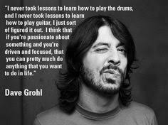 Dave Grohl on Pinterest | Foo Fighters, Kurt Cobain and Nirvana via Relatably.com