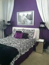 black purple bedroom decor