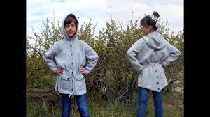 Вязаная <b>куртка</b> с капюшоном для <b>девочки</b> - YouTube