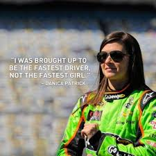 Danica Patrick is an American auto racing driver and model. She's ... via Relatably.com
