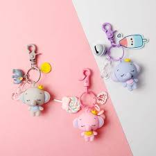 Cute <b>Keyring</b> Toy <b>Keyring Anime Dumbo Keychain</b> Cartoon ...