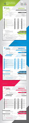 corporate invoice template by departstudio graphicriver corporate invoice template proposals invoices stationery