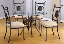 Round Glass Dining Room Table Dining Room Tables Glass Top Malstk