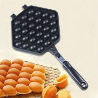 <b>QQ Egg Bubble</b> Puff Cake Baking Pan Waffle Maker Mold Plate Non ...