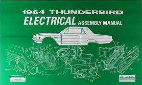 1964 ford thunderbird wiring diagram manual reprint related items