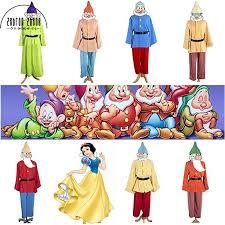 Movie <b>anime Snow White</b> and Seven Dwarfs Costume Cosplay ...