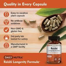 <b>Reishi Longevity</b> Formula - DailyNutra