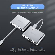 <b>ORICO</b> USB C HUB For Laptop PD Charging Function <b>Aluminum</b> ...