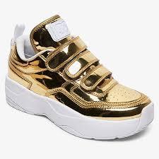 <b>DC Shoes кроссовки</b> ADJS700080-GLD купить в интернет ...