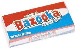 Resultado de imagen para chicles bazooka