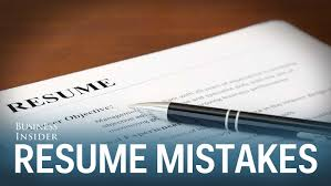 worst mistakes on resumes worst mistakes on resumes
