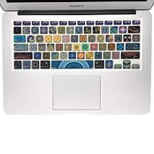 SANFORIN Silicone Keyboard Cover with Pattern for ... - Amazon.com