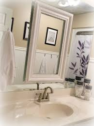decorating bathroom mirrors ideas interior