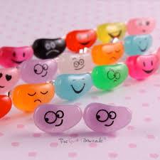 Jelly <b>beans</b>, Cute <b>candy</b>, Stud earrings