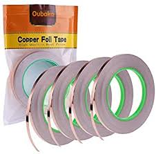 4 <b>Pack</b> Copper Foil <b>Tape</b>,Copper <b>Tape</b> Double-Sided <b>Conductive</b>