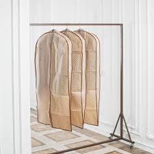 Набор <b>чехлов для одежды</b> Homsu Classic, HOM-919, бежевый ...