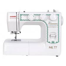 Электромеханическая <b>швейная машина Janome ML 77</b>. Каталог ...