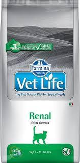 <b>Сухой корм Farmina Vet</b> Life Cat Renal для кошек при ...