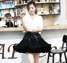 <b>2018</b> New Fashion 40cm Tutu Tulle Skirt Vintage Short Mini Skirt ...