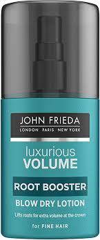 <b>John Frieda Luxurious Volume</b> Root Booster Blow Dry Lotion, 125ml ...