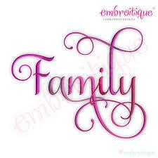 family word design family word design