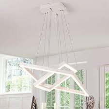 Royal Pearl <b>Modern LED</b> Foyer <b>Pendant Lighting</b> 2 Rings ...