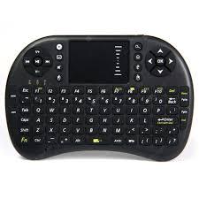 <b>UKB</b> - <b>500</b> - <b>RF</b> 2.4GHz Mini Wireless Keyboard with Touch Pad ...
