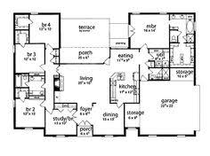 images about House plans on Pinterest   Floor plans  One       images about House plans on Pinterest   Floor plans  One story houses and House plans