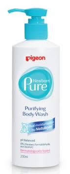 """<b>Нежный гель для купания</b> """"Newborn Pure Purifying Body Wash"""", 0+ ..."""