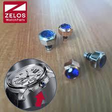 6.0mm/7.0mm Steel double waterproof Sapphire Crystal watch ...