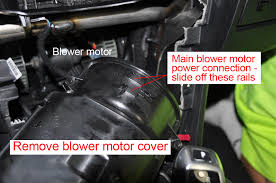 blower motor replacement bmw e60 bmw repair guide blower motor replacement cover removal