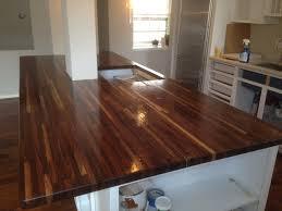 countertops dark wood kitchen islands table: interesting brown walnut butcher block top kitchen island