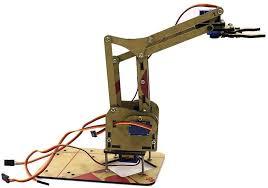 <b>DIY</b> Building <b>4 DOF</b> Acrylic Unassembled <b>DIY Robot Arm</b> Scientific ...