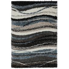 shag rugs walmart com mohawk home wavy blue woven rug coco country home decor chatham home office decorator