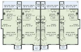 French Country Four Plex   ND   nd Floor Master Suite  CAD    Floor Plan